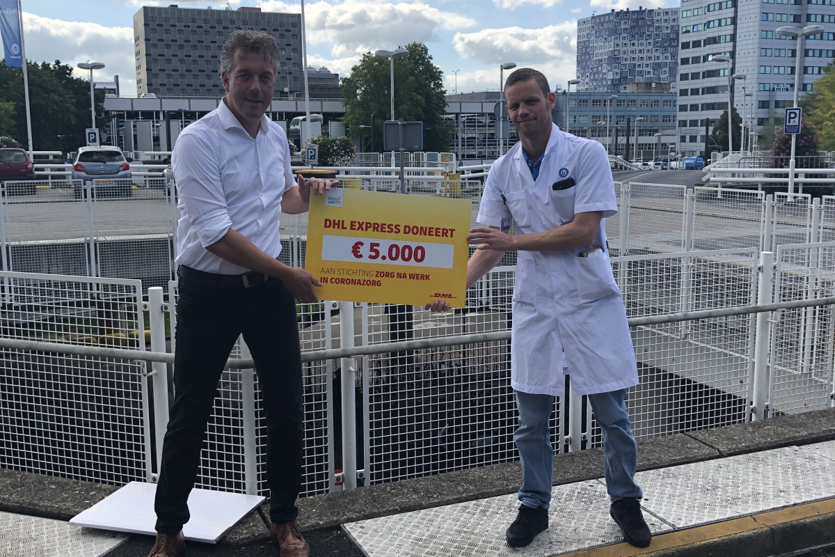 DHL cheque